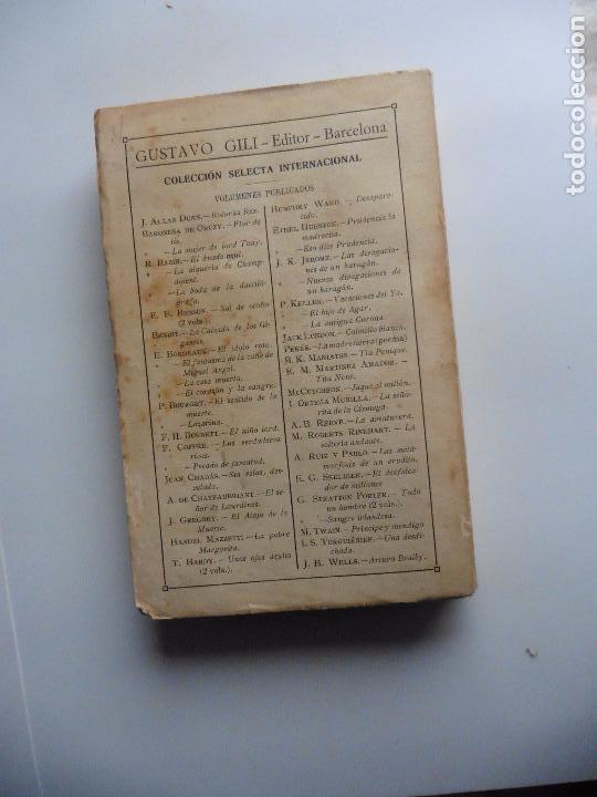 Libros antiguos: TARZAN E,RICE BURROUGHS TOMOS 1-3-4-5-6-7-8-9- 1933 ORIGINAL - Foto 12 - 70443513