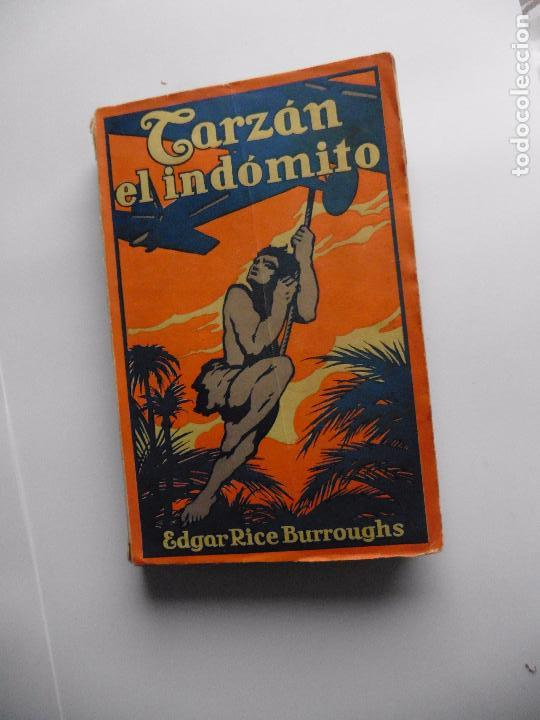 Libros antiguos: TARZAN E,RICE BURROUGHS TOMOS 1-3-4-5-6-7-8-9- 1933 ORIGINAL - Foto 13 - 70443513