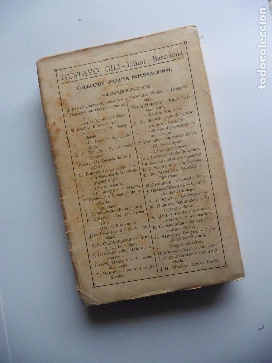 Libros antiguos: TARZAN E,RICE BURROUGHS TOMOS 1-3-4-5-6-7-8-9- 1933 ORIGINAL - Foto 14 - 70443513