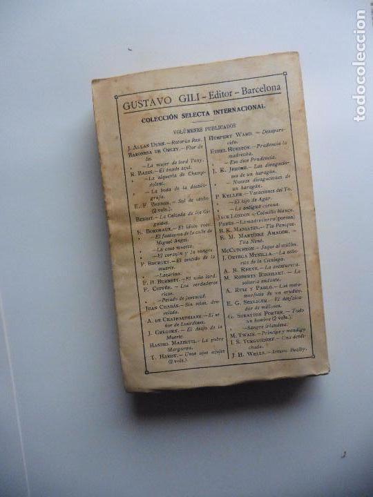 Libros antiguos: TARZAN E,RICE BURROUGHS TOMOS 1-3-4-5-6-7-8-9- 1933 ORIGINAL - Foto 16 - 70443513