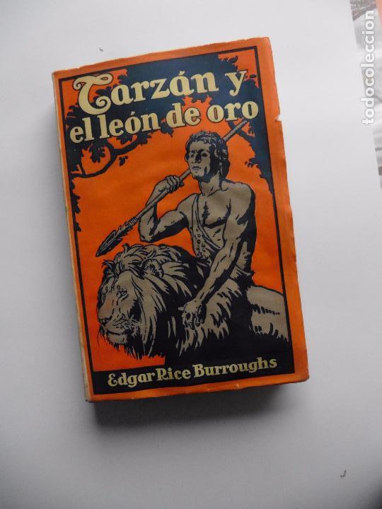 Libros antiguos: TARZAN E,RICE BURROUGHS TOMOS 1-3-4-5-6-7-8-9- 1933 ORIGINAL - Foto 17 - 70443513