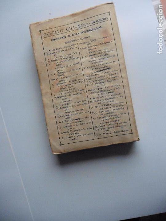 Libros antiguos: TARZAN E,RICE BURROUGHS TOMOS 1-3-4-5-6-7-8-9- 1933 ORIGINAL - Foto 18 - 70443513