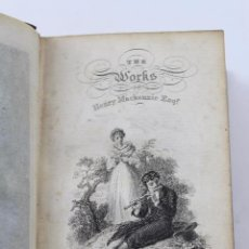 Libros antiguos: L- 4349. THE WORKS OF HENRY MACKENZIE ESQ. EDINBURGH,BY JOHN GALT. OLIVER & BOYD, 1824.. Lote 70460897