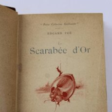 Libros antiguos: L- 4353. LE SCARABEE D' OR. TRADUCTION DE J.H. ROSNY , 1892.. Lote 70464797