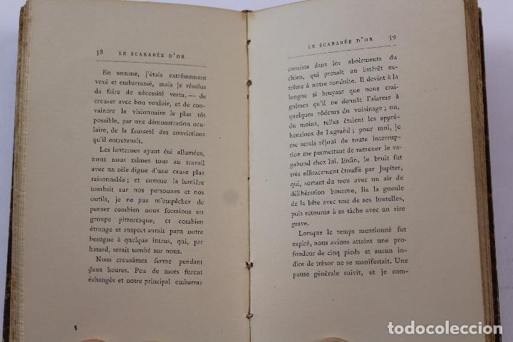 Libros antiguos: L- 4353. LE SCARABEE D' OR. TRADUCTION DE J.H. ROSNY , 1892. - Foto 7 - 70464797