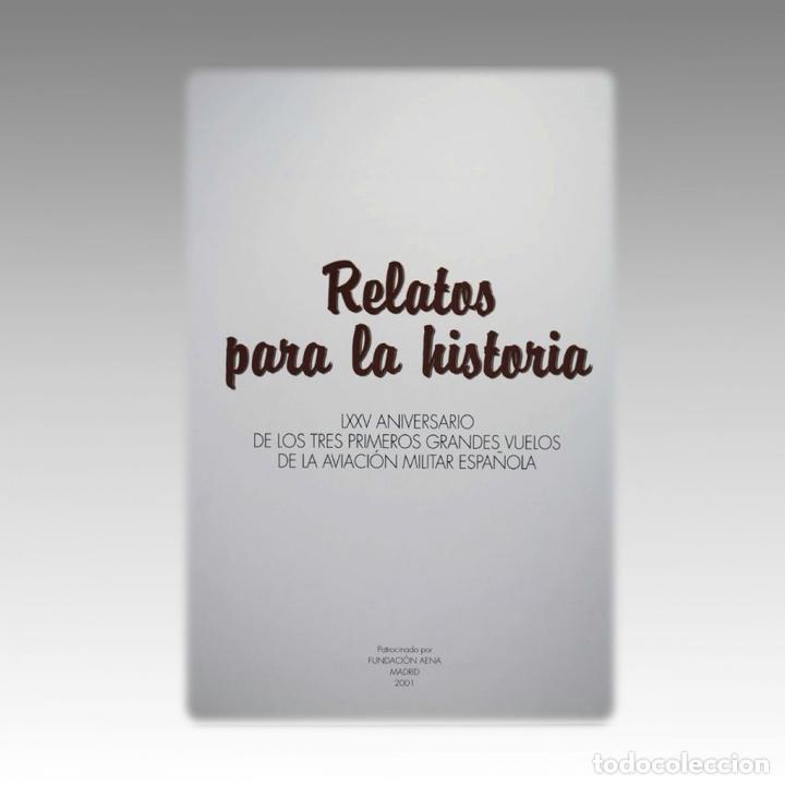 Libros antiguos: RELATOS PARA LA HISTORIA. - VARIOS - Foto 2 - 54240452