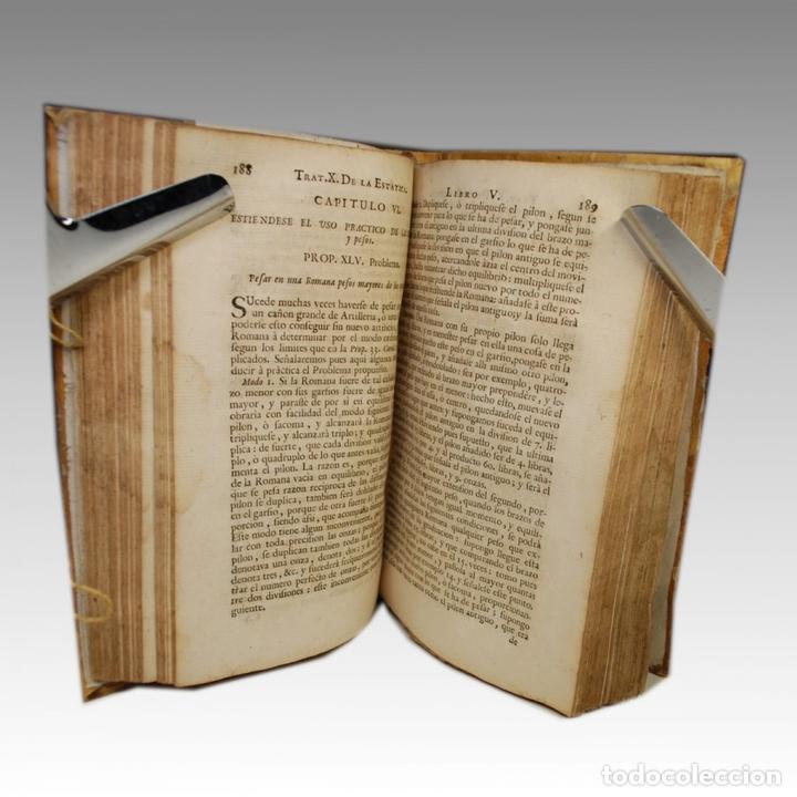 Libros antiguos: COMPENDIO MATHEMATICO TOMO IV (1757) - Foto 4 - 54240665