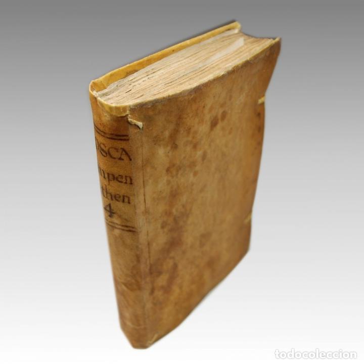Libros antiguos: COMPENDIO MATHEMATICO TOMO IV (1757) - Foto 5 - 54240665