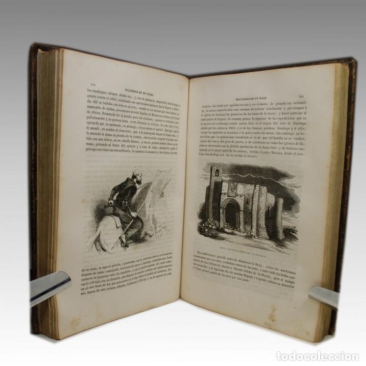 Libros antiguos: RECUERDOS DE UN VIAGE POR ESPAÑA (1849) - Foto 3 - 54240913
