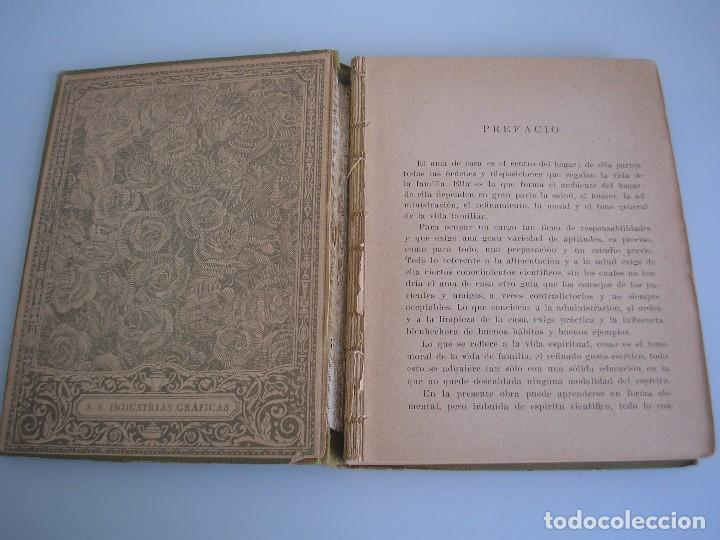 Libros antiguos: Economía doméstica - Adelina B. Estrada - Seix & Barral Herms. - Economía - Foto 4 - 70564325