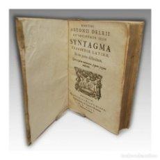 Libros antiguos: SYNTAGMA TRAGEDIA LATINA (1593) - DELRIO, MARTÍN ANTONIO (S.I.). Lote 54241369