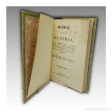 Libros antiguos: MANUAL DEL CULTIVO DE SEDAS (1834). Lote 54241484