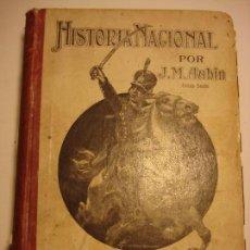 Libros antiguos: HISTORIA NACIONAL, J. M. AUBIN, ED. ÁNGEL ESTRADA, 1906, MUCHAS ILUSTRACIONES. Lote 71061737