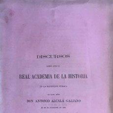 Libros antiguos: ALCALÁ GALIANO : LAS CORTES DE CASTILLA. (1864) R. ACADEMIA DE LA HISTORIA (ANTONIO BENAVIDES. Lote 71114381