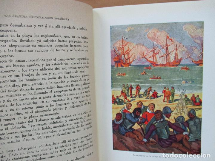Libros antiguos: HERNÁN CORTÉS O LA CONQUISTA DE MÉJICO. JOSÉ ESCOFET. 1925. - Foto 3 - 71163957
