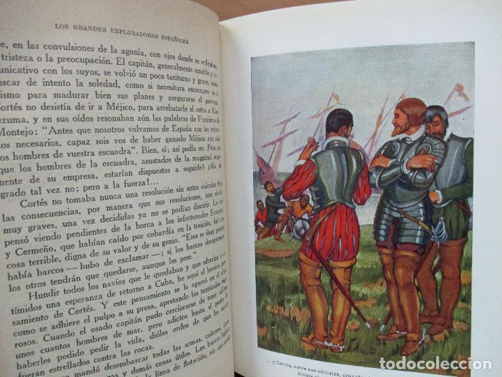 Libros antiguos: HERNÁN CORTÉS O LA CONQUISTA DE MÉJICO. JOSÉ ESCOFET. 1925. - Foto 4 - 71163957