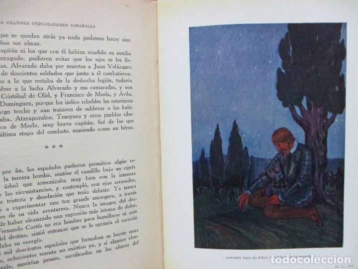 Libros antiguos: HERNÁN CORTÉS O LA CONQUISTA DE MÉJICO. JOSÉ ESCOFET. 1925. - Foto 5 - 71163957