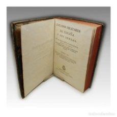 Libros antiguos: JUZGADOS MILITARES (TOMO IV) - D. FELIX COLÓN Y LARRIÁTEGUI. Lote 54241922