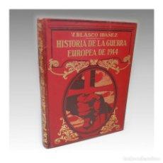 Libros antiguos: HISTORIA DE LA GUERRA EUROPEA DE 1914 (TOMO II) - VICENTE BLASCO IBAÑEZ. Lote 54241991