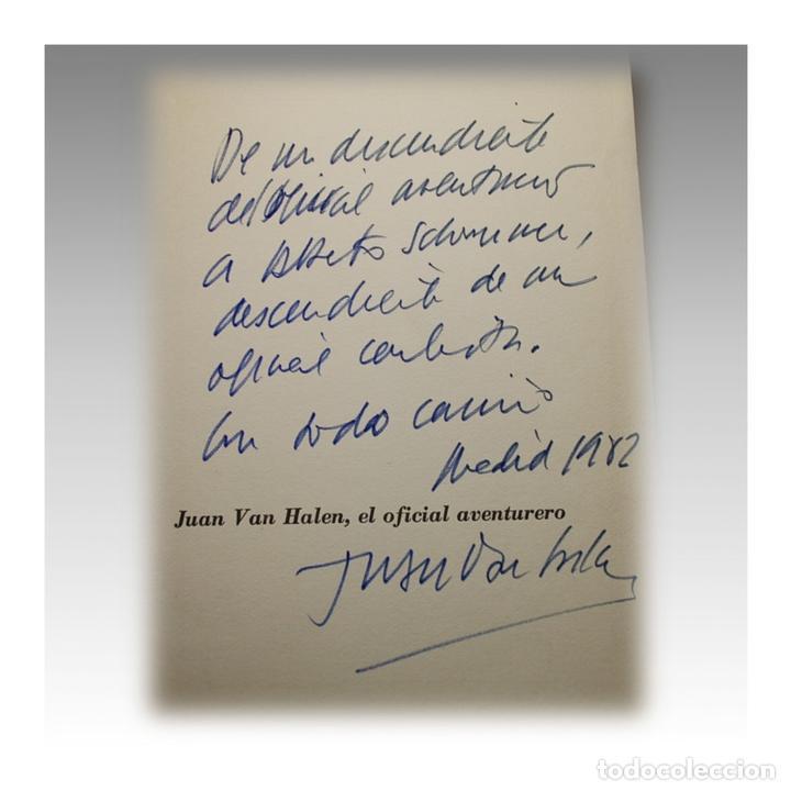 Libros antiguos: JUAN VAN HALEN EL OFICIAL AVENTURERO - PIO BAROJA - Foto 3 - 54242001