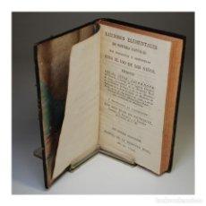 Libros antiguos: LECCIONES ELEMENTALES DE HISTORIA NATURAL (1795) - MR. COTTE. Lote 54242087