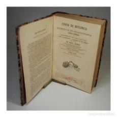 Libros antiguos: CURSO DE BOTANICA (1871). Lote 54242089