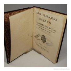 Libros antiguos: REAL ORDENANZA QUE ESTABLECE LAS REGLAS PARA EL REEMPLAZO DEL EJERCITO - REAL ORDENANZA. Lote 54868780