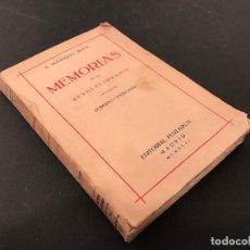 Libros antiguos: ENRIQUE RODRIGUEZ SOLIS MEMORIAS DE UN REVOLUCIONARIO. PRÓLOGO DE ROBERTO CASTROVIDO. REPUBLICANISMO. Lote 71480035