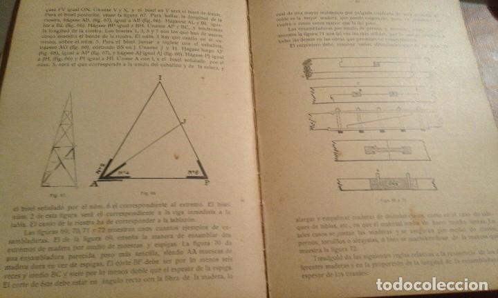 Libros antiguos: Manual de Carpintería Moderna - F. T. Hodgson - 1914 - Foto 3 - 71506859