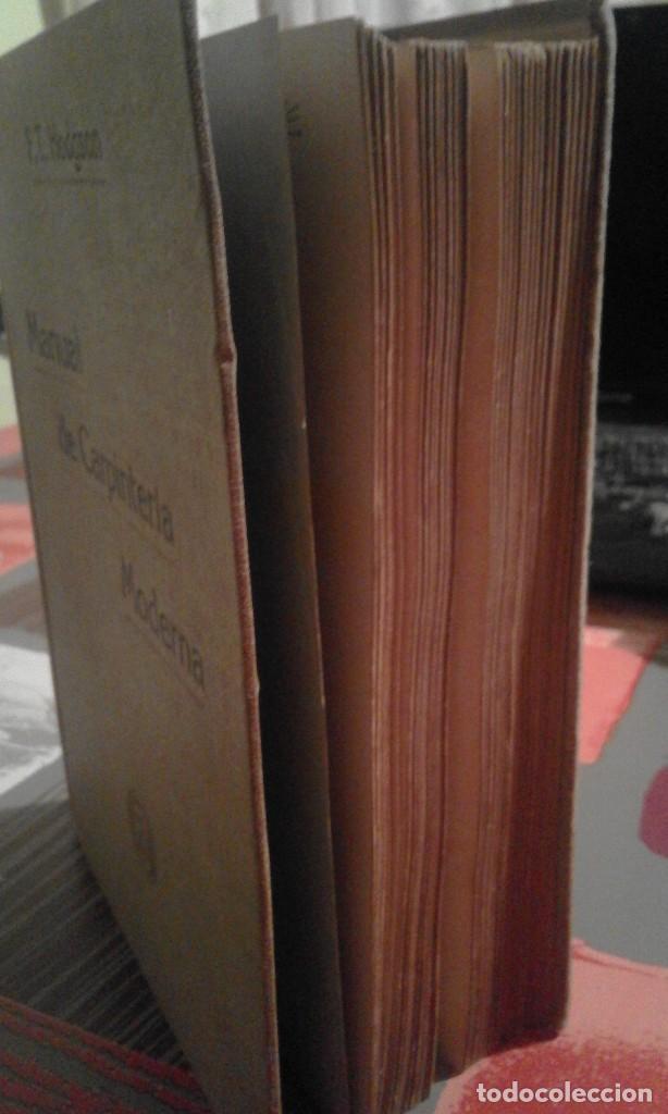 Libros antiguos: Manual de Carpintería Moderna - F. T. Hodgson - 1914 - Foto 8 - 71506859