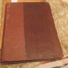 Libros antiguos: BALISTICA EXTERIOR JOSE ROJAS FEINSGESPAN COMANDANTE DE ARTILLERIA 1920 EDICIÓN CON TIPOGRAFÍA MECA. Lote 71742975