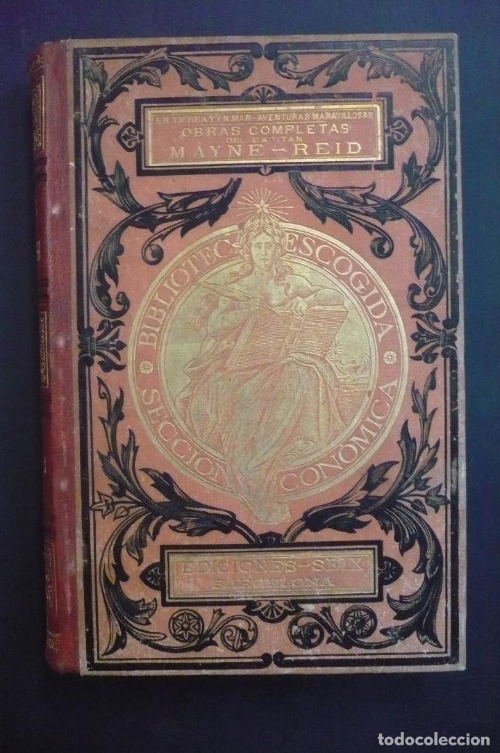 OBRAS COMPLETAS. 4 TOMOS. - REID, MAYNE. (Libros antiguos (hasta 1936), raros y curiosos - Literatura - Narrativa - Otros)