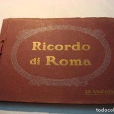 Libros antiguos: RICORDO DI ROMA, 36 VEDUTE. Lote 71921251