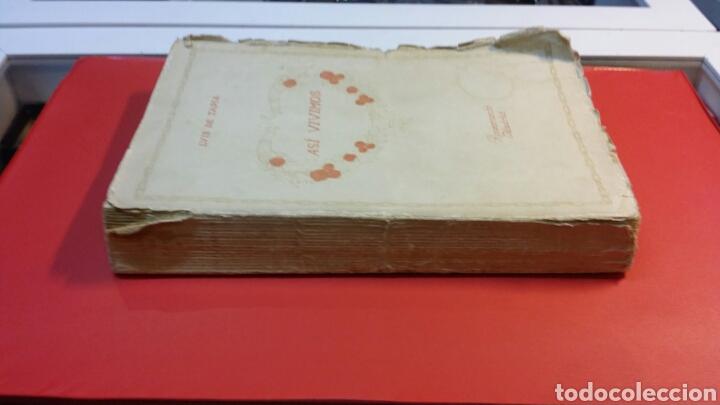 Libros antiguos: Libro así vivimos editorial Renacimiento Madrid 1916 tapa blanda - Foto 3 - 72062543