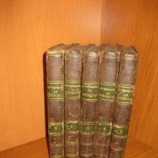 Libros antiguos: DICCIONARIO DE VETERINARIA Y SUS CIENCIAS AUXILIARES. CARLOS RISUEÑO. 5 VOL. LIBRERIA PEREZ 1829.. Lote 72104079
