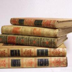 Libros antiguos: CONJUNTO DE CINCO LIBROS MODERNISTAS CON LOMO EN PERGAMINO. MONTANER Y SIMÓN EDITORES. Lote 72155863