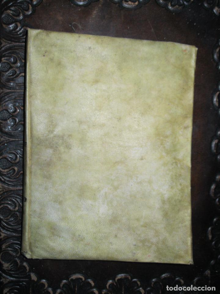 Pergamino Libro Antiguo Siglo Xix Puerta Del So Comprar