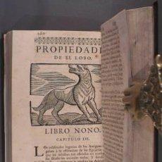Libros antiguos: FERRER DE VALDECEBRO, ANDRÉS: GOVIERNO GENERAL, MORAL Y POLÍTICO HALLADO EN LAS FIERAS... 1728. Lote 72319695