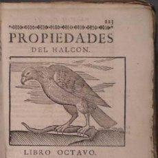 Libros antiguos: FERRER DE VALDECEBRO, ANDRÉS: GOVIERNO GENERAL, MORAL Y POLÍTICO HALLADO EN LAS AVES... 1683. Lote 72320923
