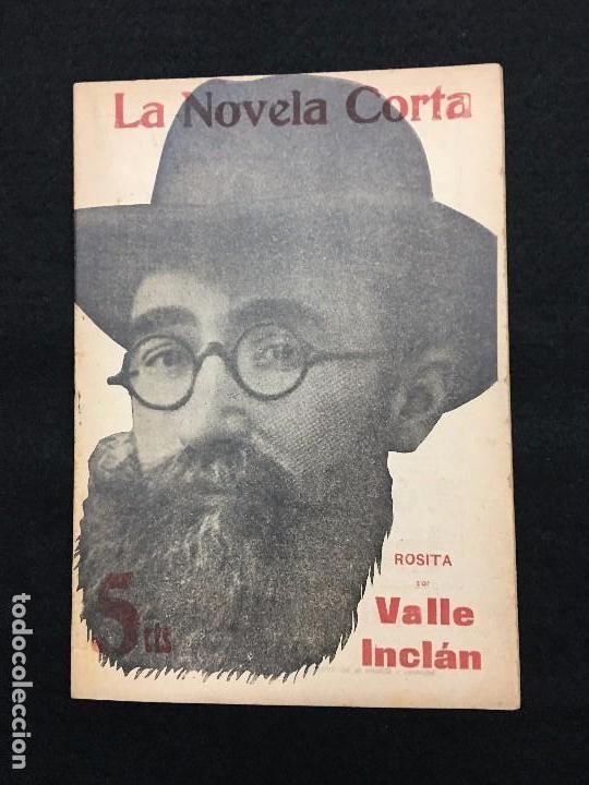 La Novela Corta Nº 93 Valle Inclan Rosita Madrid 13 De Octubre De 1917