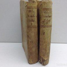 Libros antiguos: EL HOMBRE FELIZ MANUSCRITO INDEPENDIENTE DEL MUNDO Y DE LA FORTUNA 1ª EDICION 1790 TOMO I Y TOMO II. Lote 72698323
