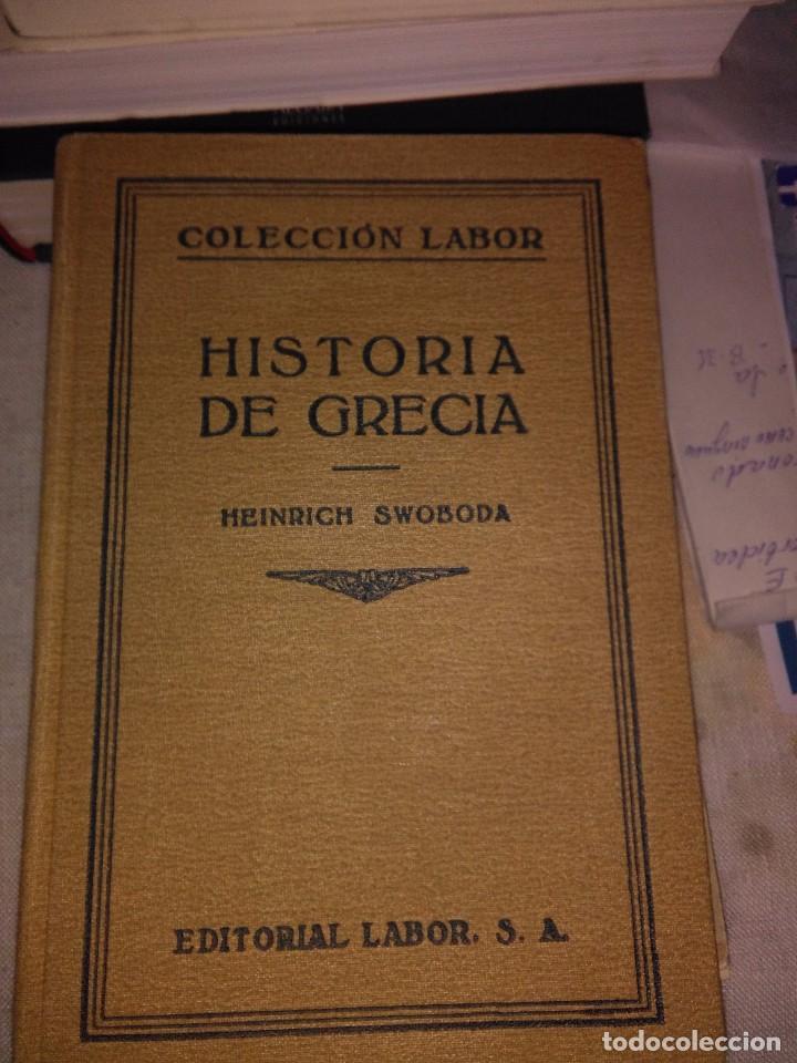 HISTORIA DE GRECIA (Libros antiguos (hasta 1936), raros y curiosos - Literatura - Narrativa - Otros)
