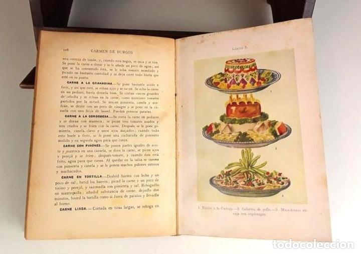 Libros antiguos: 8293 - ¿QUIERE USTED COMER BIEN?. CARMEN DE BURGOS. EDIT. RAMÓN SOPENA. 1936. - Foto 3 - 72837375