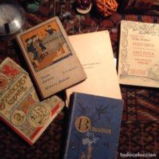Libros antiguos: CINCO LIBROS ANTIGUOS. Lote 72858007