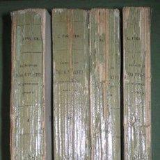 Libros antiguos: FIGUIER, L: EXPOSITION ET HISTOIRE DES PRINCIPALES DECOUVERTES SCIENTIFIQUES MODERNES. 4 VOLS. 1862. Lote 72875743