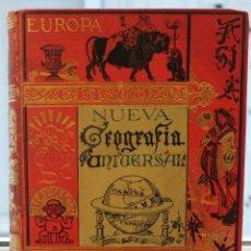 Libros antiguos: NUEVA GEOGRAFIA UNIVERSAL POR ELISEO RECLUS. EL PROGRESO 1892. PRIMERA SERIE EUROPA TOMO III.. Lote 72915663