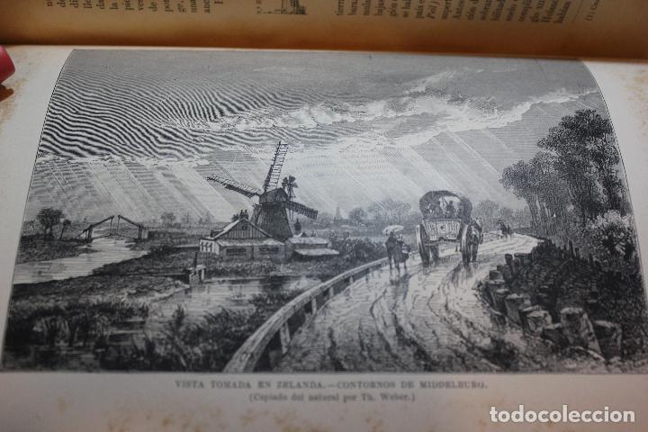 Libros antiguos: NUEVA GEOGRAFIA UNIVERSAL POR ELISEO RECLUS. EL PROGRESO 1892. PRIMERA SERIE EUROPA TOMO III. - Foto 5 - 72915663