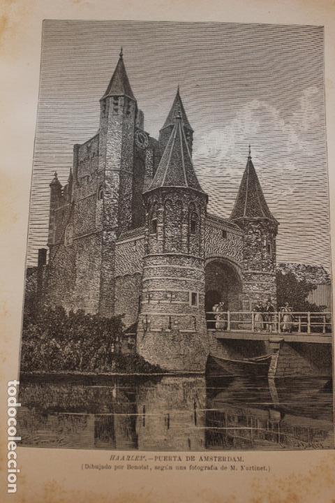 Libros antiguos: NUEVA GEOGRAFIA UNIVERSAL POR ELISEO RECLUS. EL PROGRESO 1892. PRIMERA SERIE EUROPA TOMO III. - Foto 7 - 72915663
