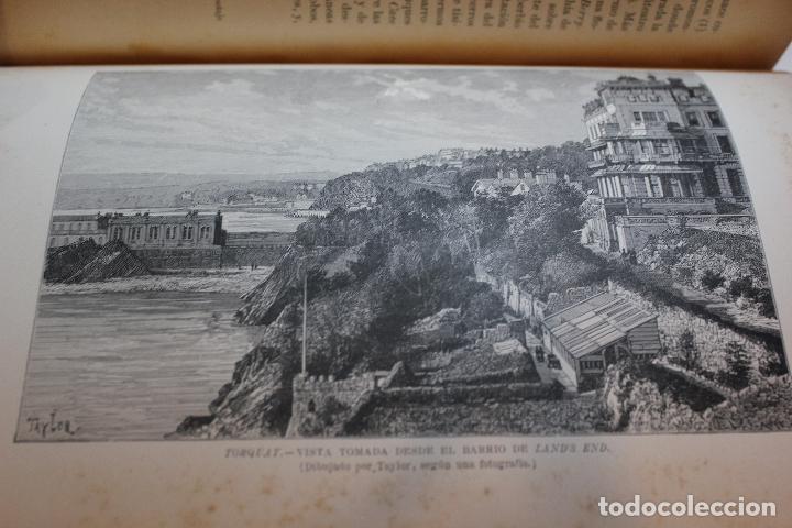 Libros antiguos: NUEVA GEOGRAFIA UNIVERSAL POR ELISEO RECLUS. EL PROGRESO 1892. PRIMERA SERIE EUROPA TOMO III. - Foto 8 - 72915663