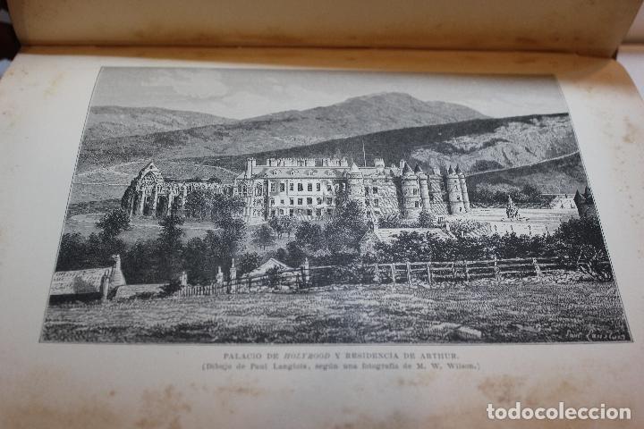 Libros antiguos: NUEVA GEOGRAFIA UNIVERSAL POR ELISEO RECLUS. EL PROGRESO 1892. PRIMERA SERIE EUROPA TOMO III. - Foto 9 - 72915663